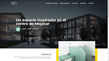 we-co sitio web espacio coworking